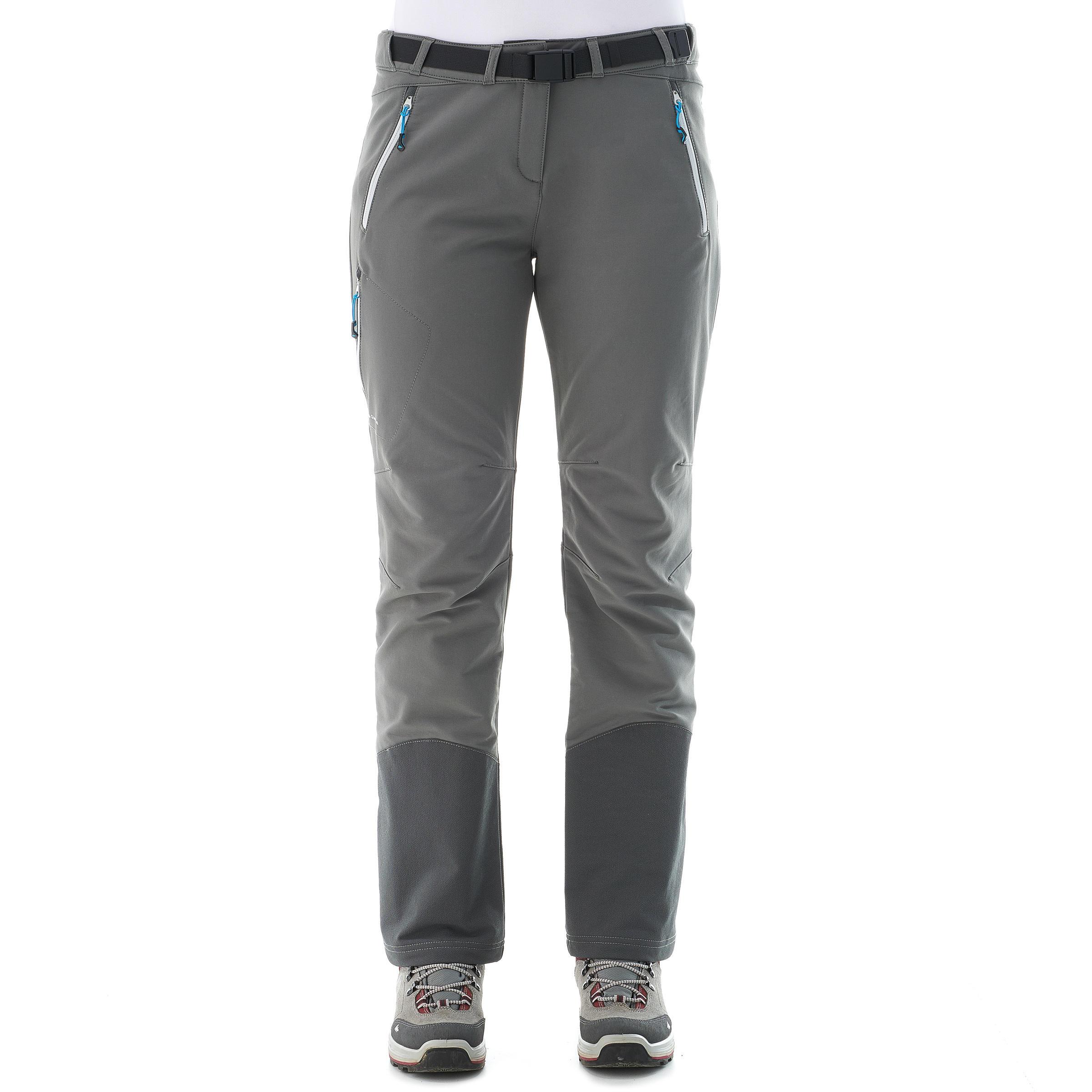 Pantalon De Sh900 Femme Gris Randonnée Chaud Neige Foncé Onw08kPX