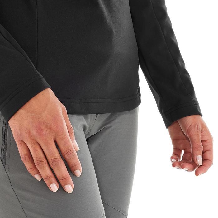 Pullover Winterwandern SH100 Warm Damen schwarz