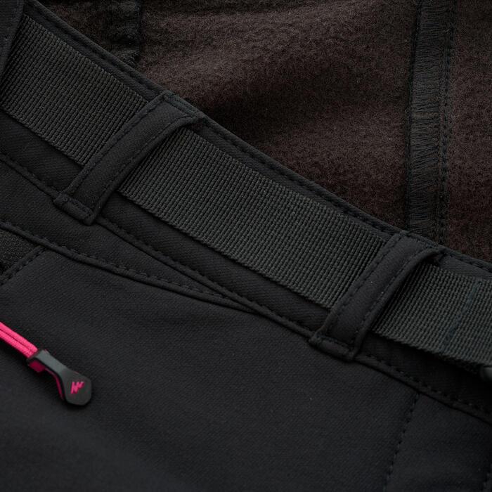 Pantalon Forclaz 500 Warm lady - 1033811