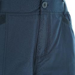Pantalon de randonnée neige homme SH100 ultra-warm bleu.