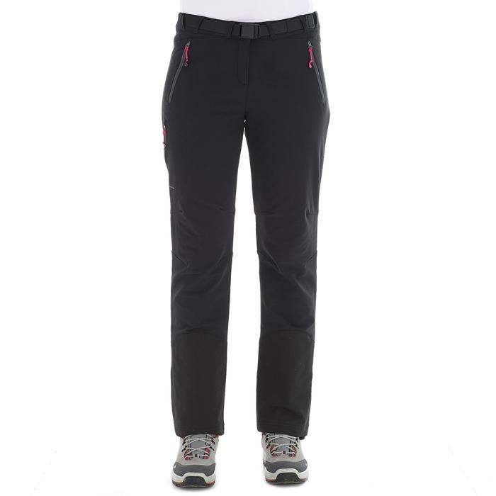 Pantalon Forclaz 500 Warm lady - 1033820