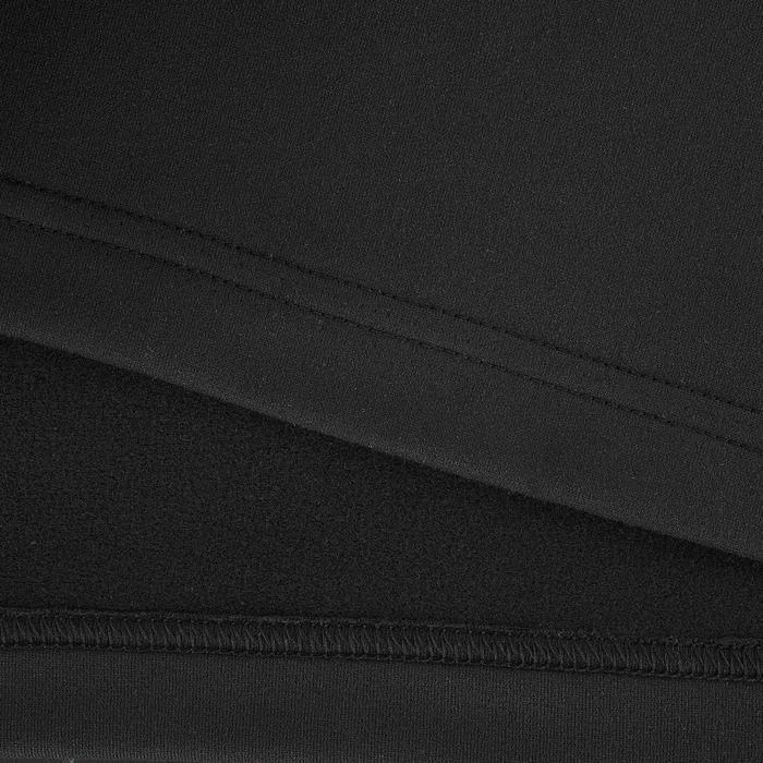 Wandelshirt met lange mouwen voor de sneeuw dames SH100 warm zwart
