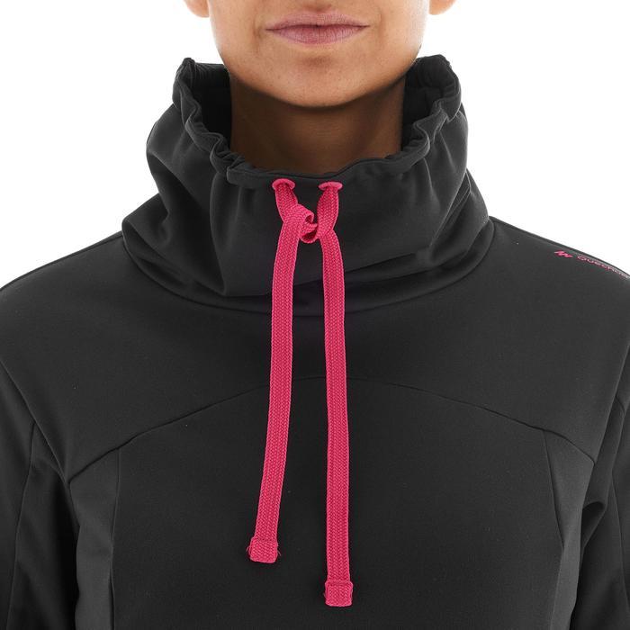 T-shirt voor wandelen in de sneeuw dames SH100 warm - 1033838