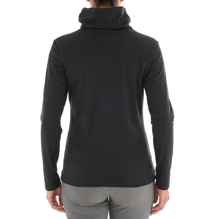 T-shirt voor wandelen in de sneeuw dames SH100 warm - 1033841