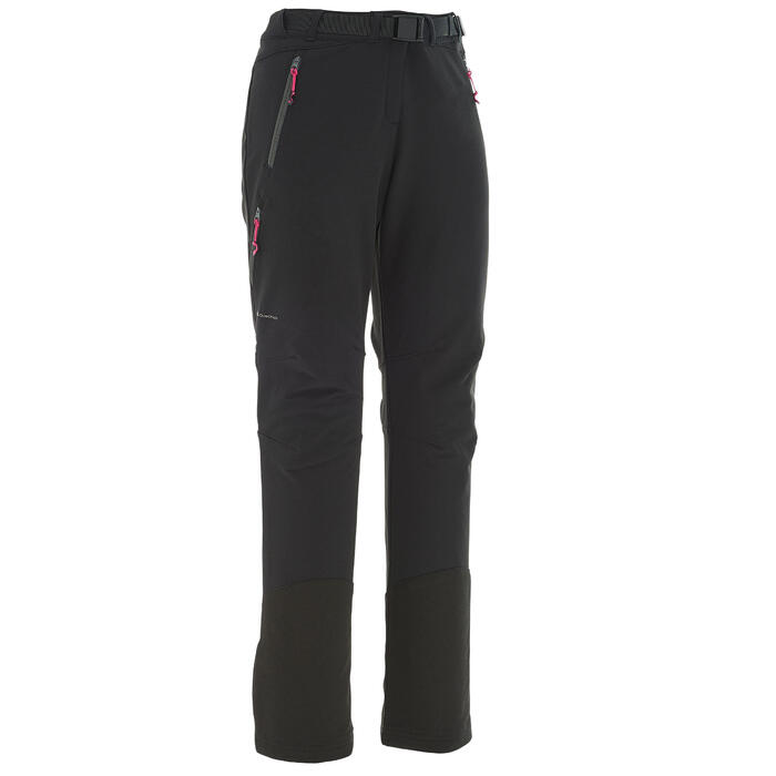 Pantalon Forclaz 500 Warm lady - 1033851