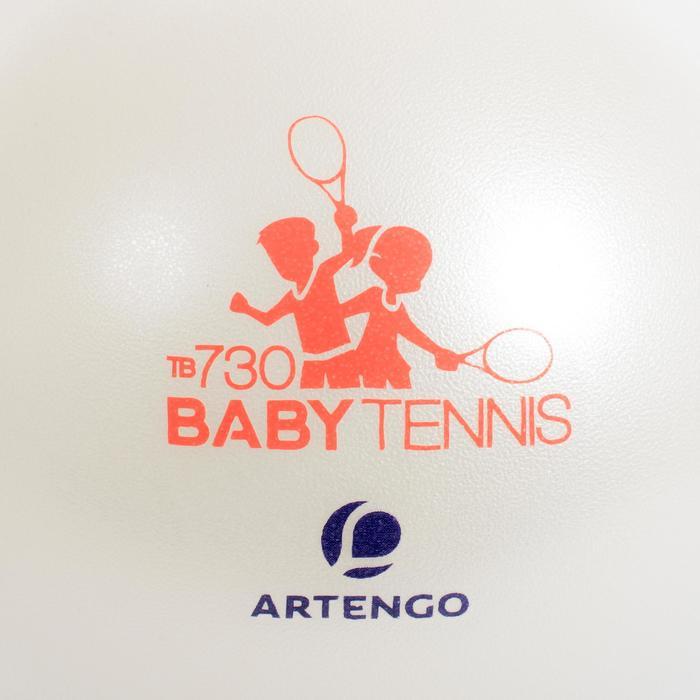 Tennisbälle einzeln TB130 26cm Kinder weiß