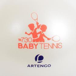 Tennisball Baby Tennis TB130 26cm Kinder einzeln weiß