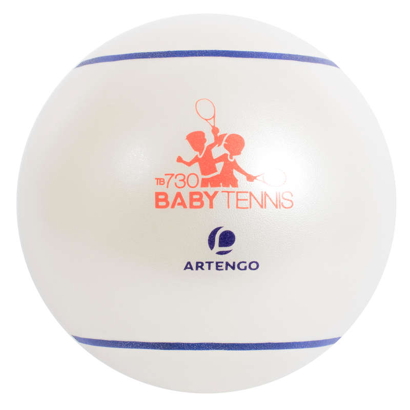 TENNIS BALLS Tennis - TB130 Baby 26cm White ARTENGO - Tennis Accessories