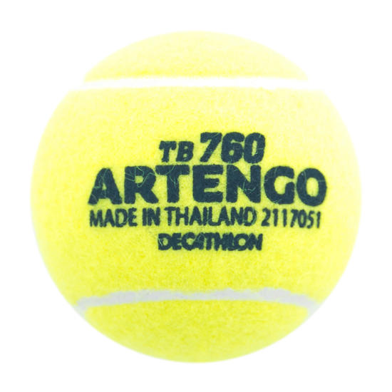 Tennisbal TB760 training geel - 1033895