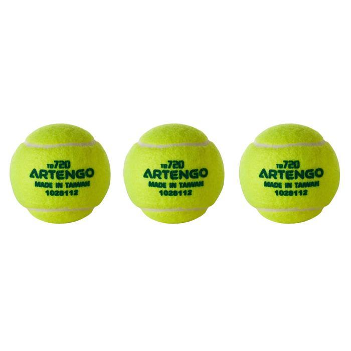 Gasgevulde tennisbal TB120 3 stuks competitie KD