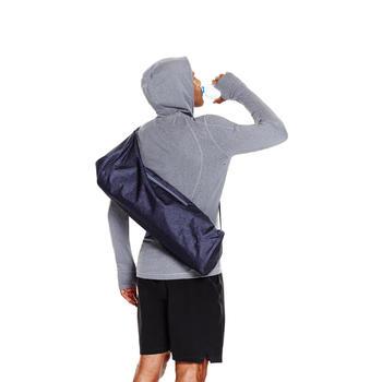 Hülle für Yogamatte dunkelgraumeliert