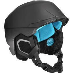 成人單/雙板滑雪安全帽Carv 700 Mips - 黑色。