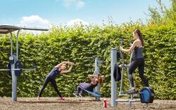 Fitnesskuitbroek Shape Booster met cellulite vermindering voor dames zwart - 1034229