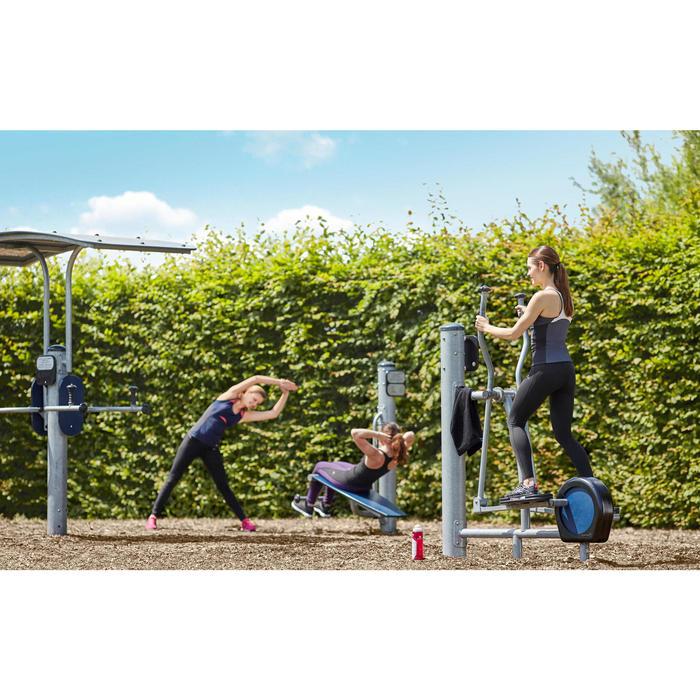 Legging réduction cellulite fitness cardio femme noir Shape Booster Domyos - 1034229