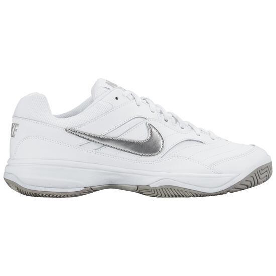 Tennisschoenen dames Court Lite allcourt wit/grijs - 1034246