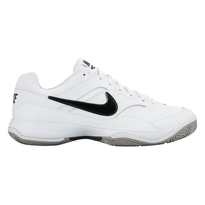 nike heren tennisschoenen court lite wit multicourt | decathlon.nl