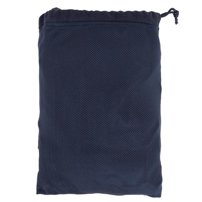 Peignoir coton léger natation junior rose avec ceinture, poches et capuche - 1034264