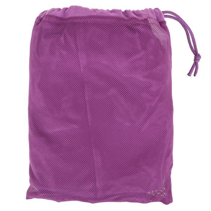 Peignoir microfibre natation enfant avec capuche, poches et ceinture - 1034296