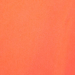 Badjas microvezel dames violet met kap, zakken en strikceintuur - 1034325