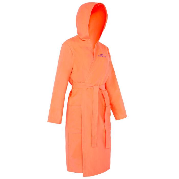 Peignoir femme microfibre granatina avec capuche, poches et ceinture