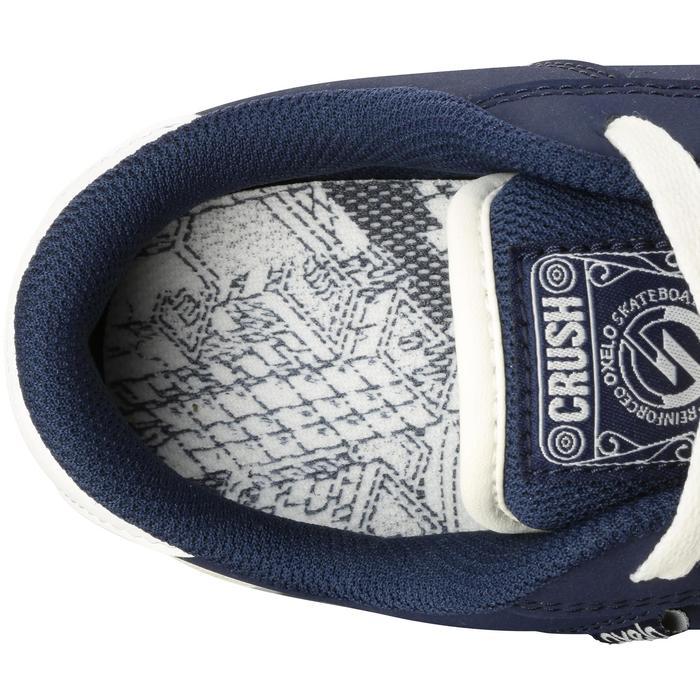 Chaussure de skate enfant CRUSH BEGINNER noire verte - 1034686