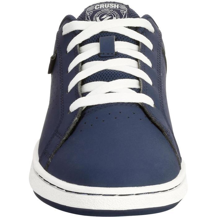 Chaussure de skate enfant CRUSH BEGINNER noire verte - 1034689