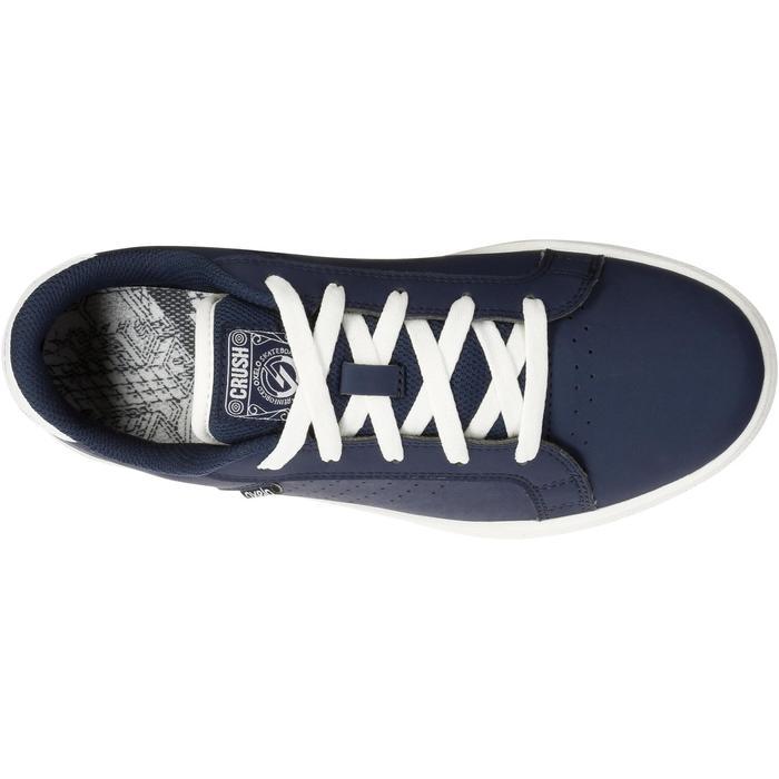 Chaussure de skate enfant CRUSH BEGINNER noire verte - 1034705