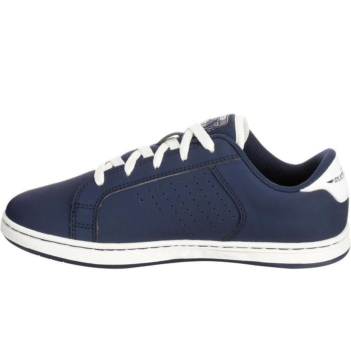 Chaussure de skate pour enfant CRUSH 100 bleu marine