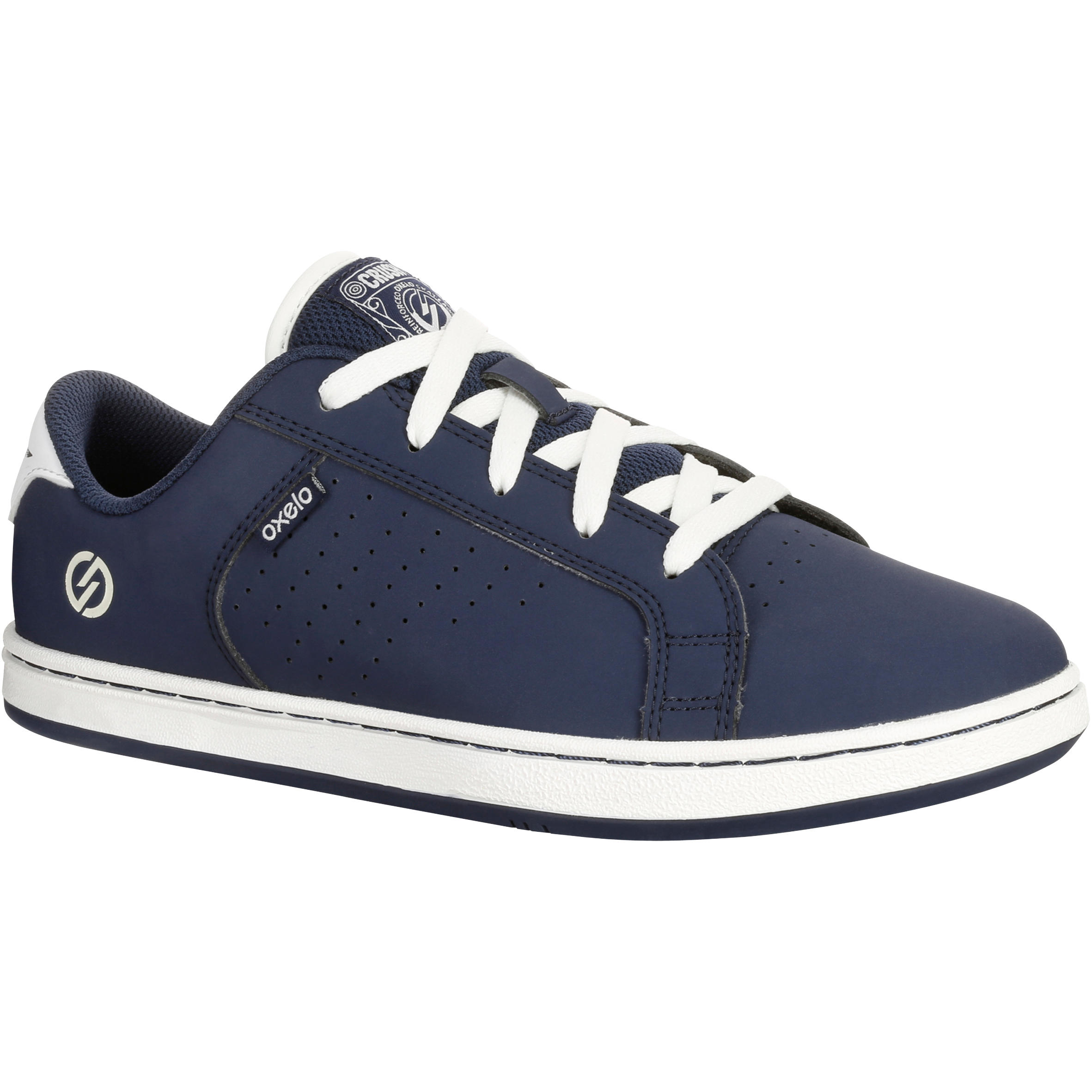 Crush Beginner II Kids' Skateboarding Shoes - Navy Blue