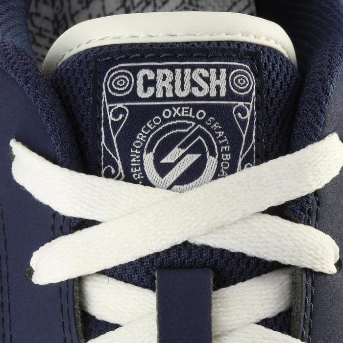 Chaussure de skate enfant CRUSH BEGINNER noire verte - 1034726