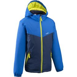CHILDREN'S SKI JACKET 100 BLUE