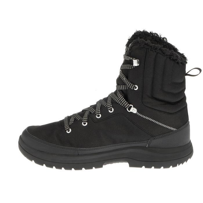 Chaussures de randonnée neige homme SH100 warm high noires. - 1034781