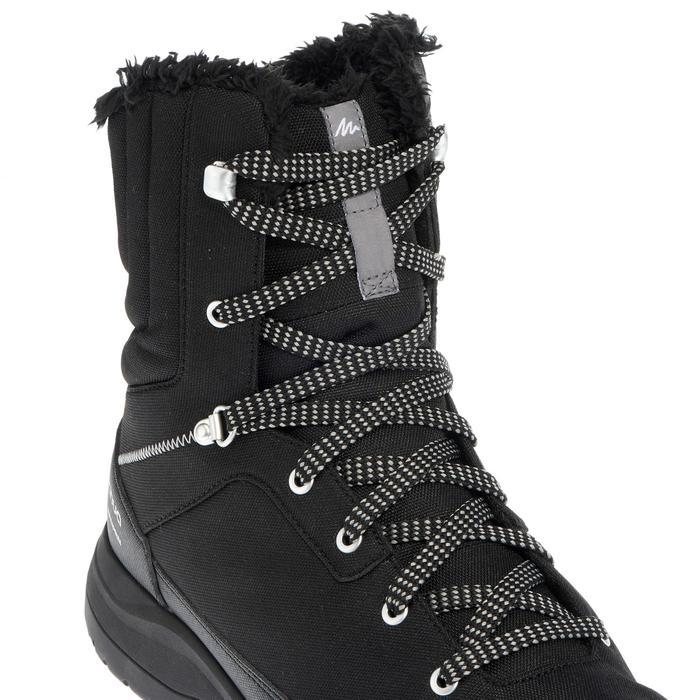 Chaussures de randonnée neige homme SH100 warm high noires. - 1034797