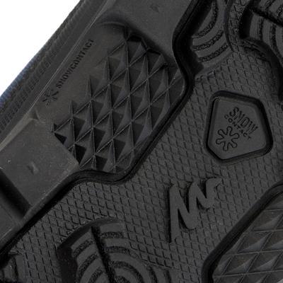 SH100 מגפיים חמים לגברים עמידים למים לטיפוס הרים בתנאי שלג - כחול