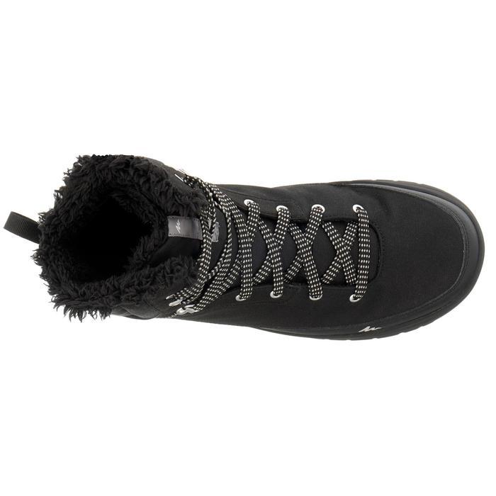 Chaussures de randonnée neige homme SH100 warm high noires. - 1034803