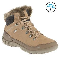 Warme en waterdichte damesschoenen voor trekking Arpenaz 500 mid Warm