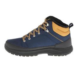 Botas de senderismo en la nieve para hombre SH100 cálidas e impermeables azul