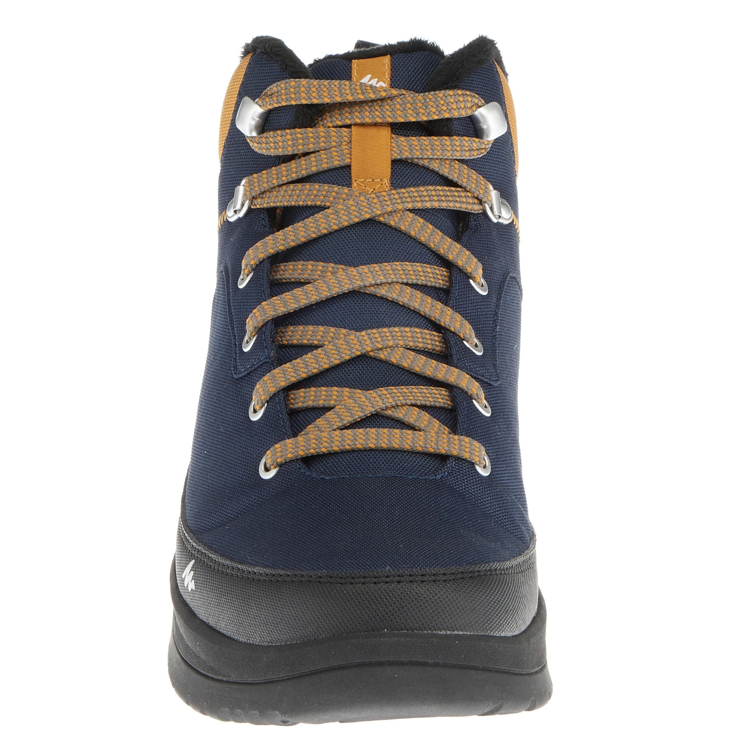 Men's Snow Hiking Shoe SH100 WARM Mid - Blue