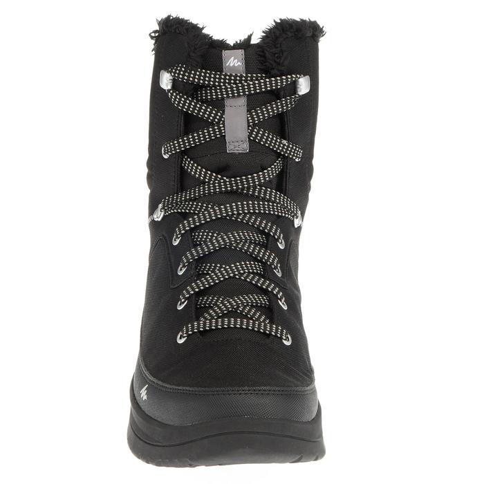 Heren wandelschoenen voor de sneeuw SH100 Warm high zwart