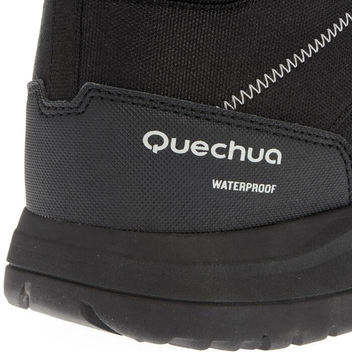 Chaussures de randonnée neige homme SH100 warm high noires. - 1034883