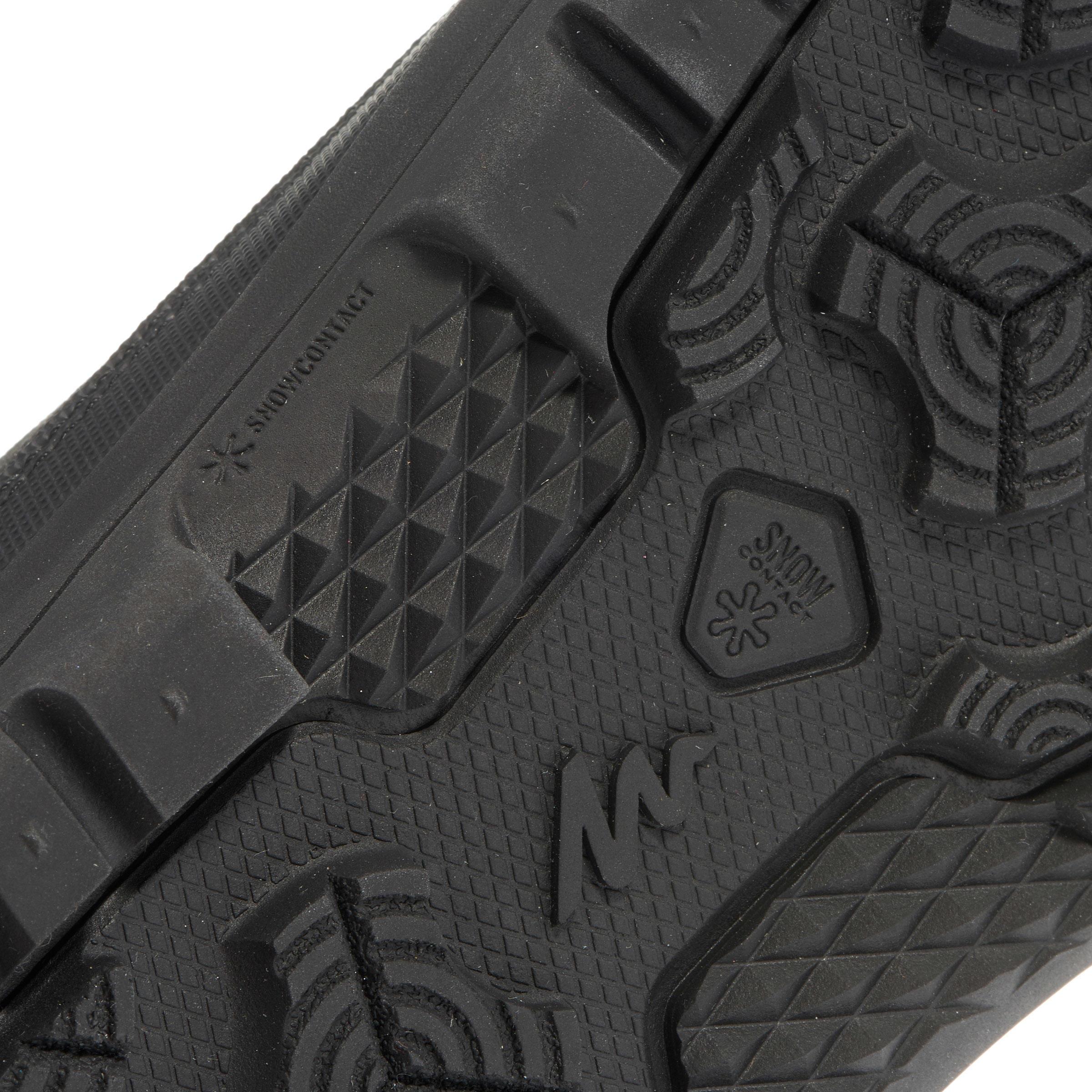 Men's Snow Hiking Shoes SH100 (High Ankle) - Black