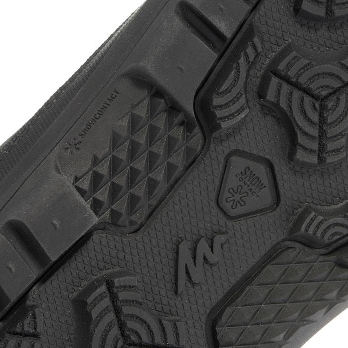 Chaussures de randonnée neige homme SH100 warm high noires. - 1034903
