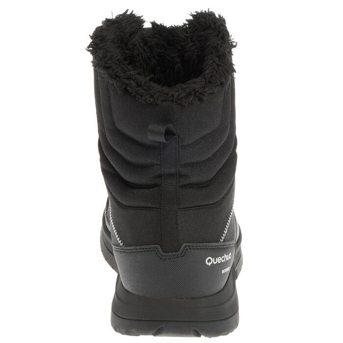 Botas de senderismo nieve hombre SH100 warm high negro. Quechua ... 147a147d4548b
