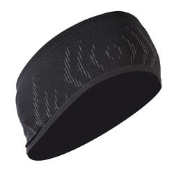 500 Cycling Seamless Headband - Black
