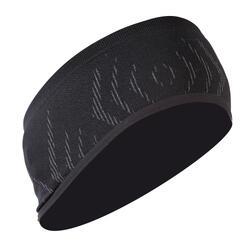 Fahrrad-Stirnband seamless 500 schwarz