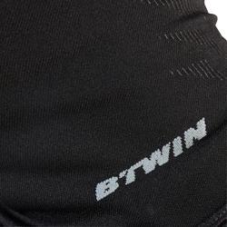 Naadloze fiets bivakmuts 500 zwart