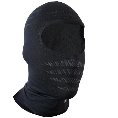 500 Seamless Cycling Balaclava - Black