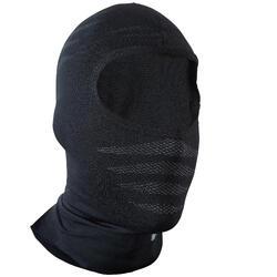 自行車無縫保暖頭套500 - 黑色