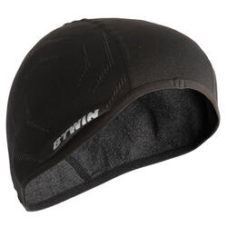 500 Seamless Cycling Helmet Liner - Black