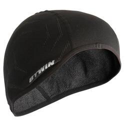 Naadloze fietsmuts 500 zwart